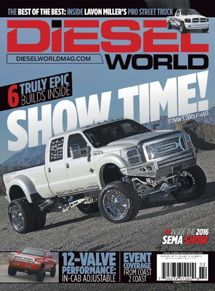 Diesel World Cover - 2/1/2017
