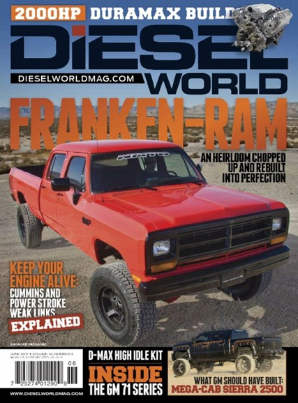 Diesel World Cover - 6/1/2017