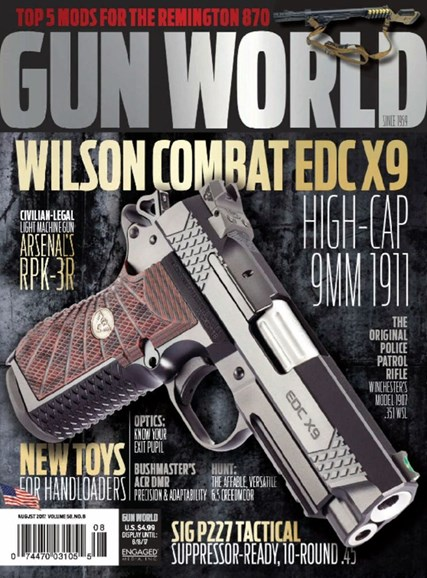 Gun World Cover - 8/1/2017
