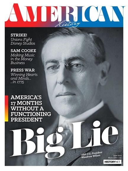 American History Cover - 6/1/2017