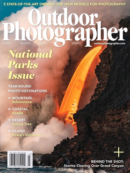 Outdoor Photographer Cover - 7/1/2017