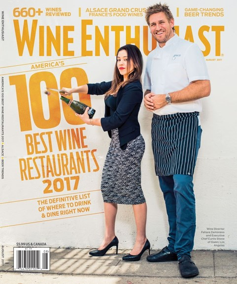 Wine Enthusiast Cover - 8/1/2017