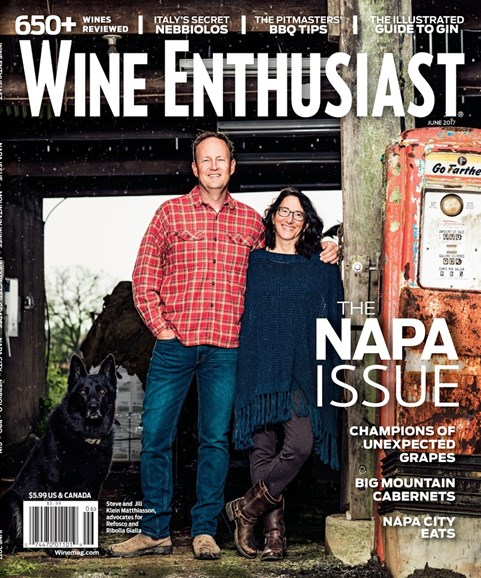 Wine Enthusiast Cover - 6/1/2017