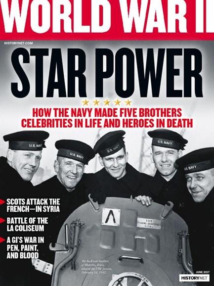 World War II Cover - 5/1/2017