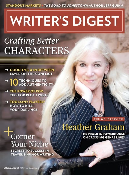 Writer's Digest Cover - 7/1/2017