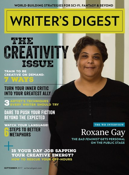 Writer's Digest Cover - 9/1/2017