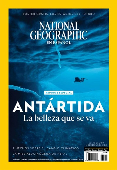National Geographic En Español Cover - 7/1/2017
