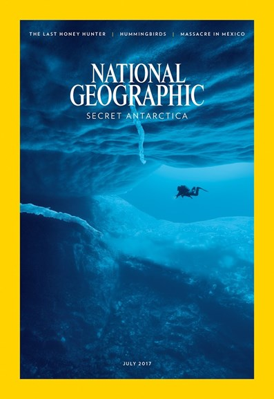 National Geographic Cover - 7/1/2017