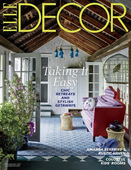 ELLE DECOR Cover - 7/1/2017