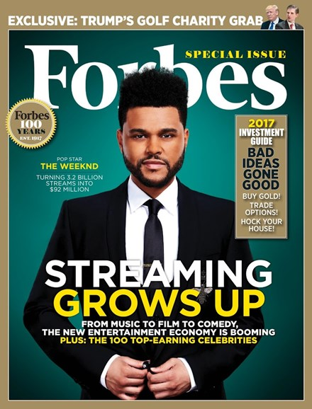 Forbes Cover - 6/29/2017