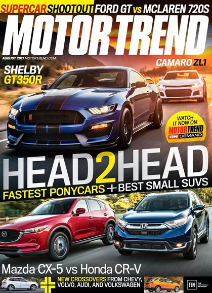 Motor Trend Cover - 8/1/2017