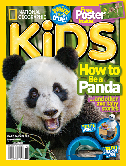 National Geographic Kids Cover - 8/1/2017