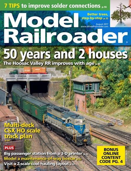 Model Railroader Cover - 8/1/2017