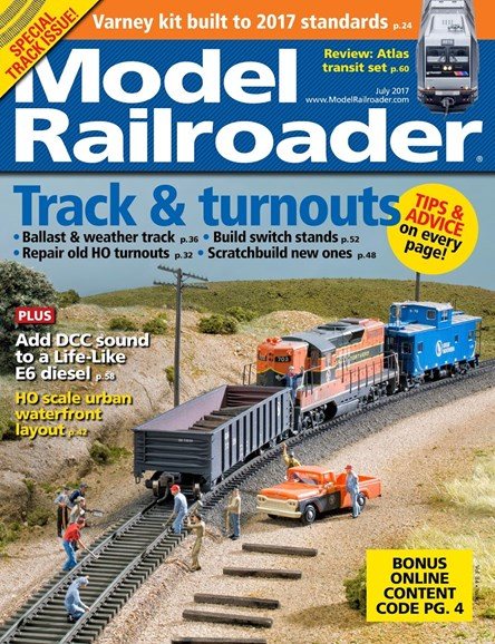 Model Railroader Cover - 7/1/2017