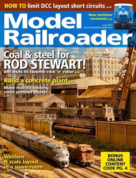 Model Railroader Cover - 6/1/2017