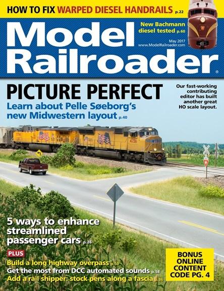 Model Railroader Cover - 5/1/2017