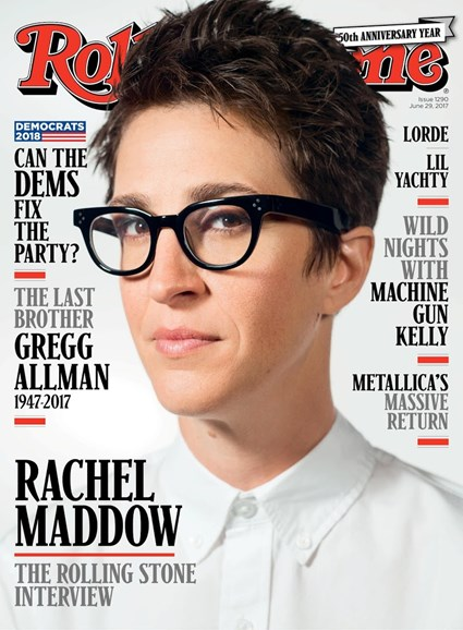 Rolling Stone Cover - 6/29/2017