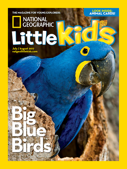 National Geographic Little Kids Cover - 7/1/2017