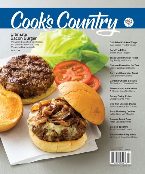 Cook's Country Cover - 6/1/2017