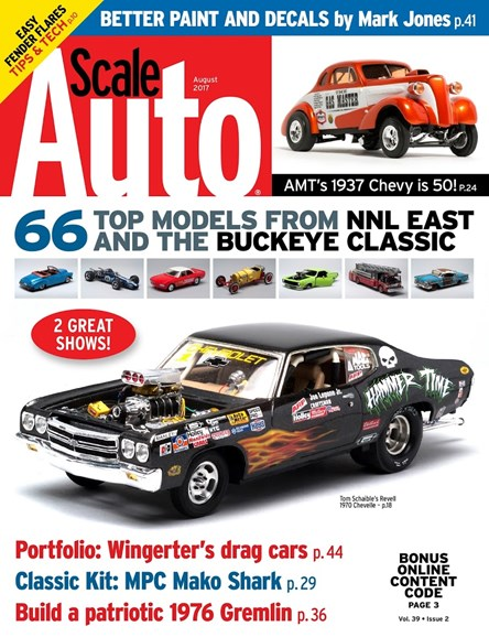 Scale Auto Magazine Cover - 8/1/2017