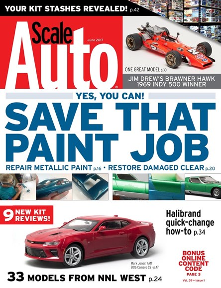 Scale Auto Magazine Cover - 6/1/2017