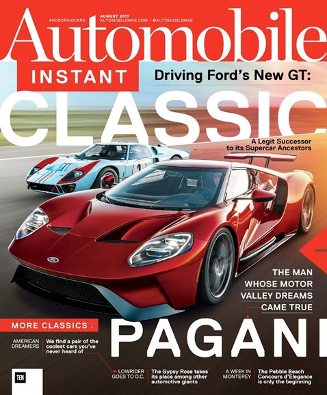 Automobile Cover - 8/1/2017