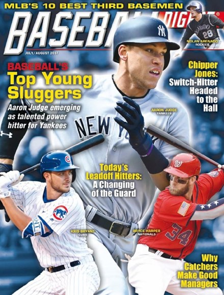 Baseball Digest Cover - 7/1/2017