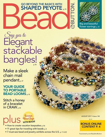 Bead & Button Cover - 8/1/2017