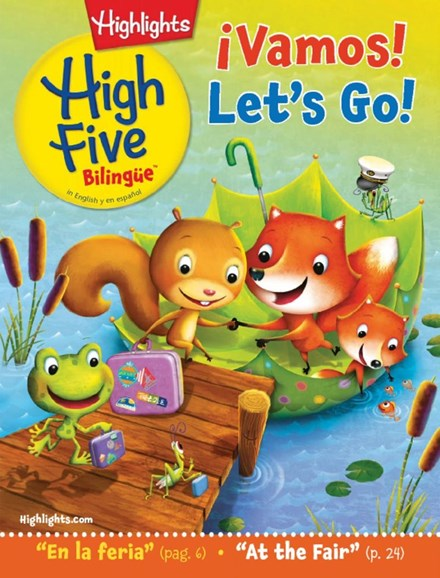 Highlights High Five Bilingue Cover - 8/1/2017