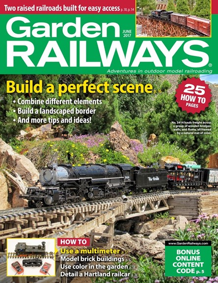 Garden Railways Cover - 6/1/2017
