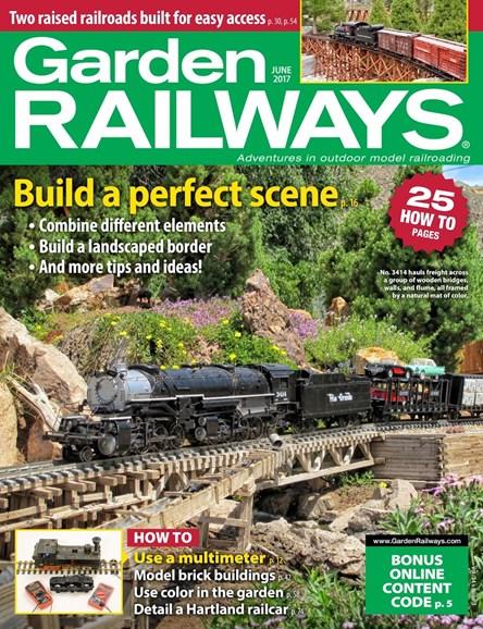 Garden Railways Cover - 6/1/2017