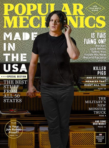Popular Mechanics Cover - 7/1/2017