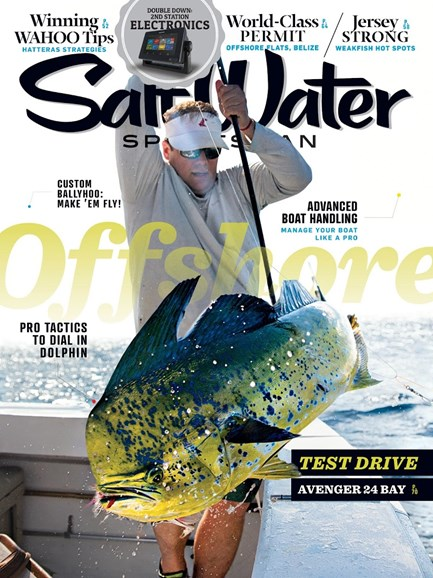 Salt Water Sportsman Cover - 7/1/2017