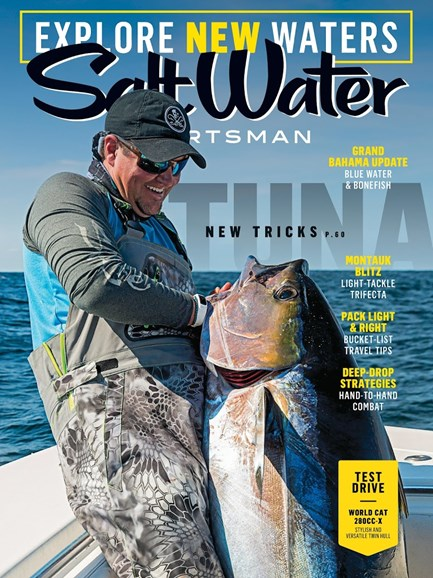 Salt Water Sportsman Cover - 6/1/2017