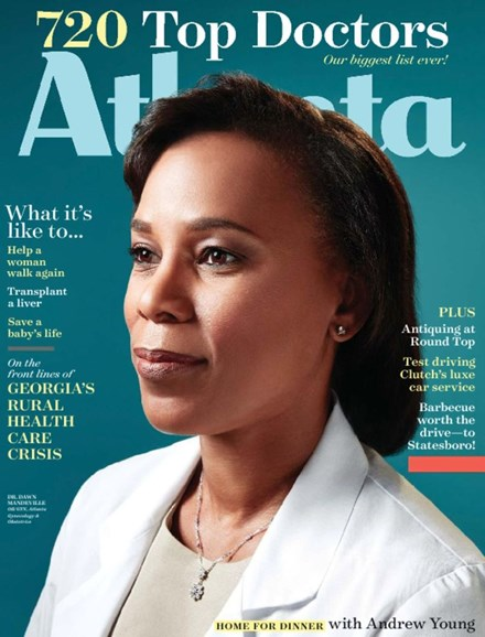 Atlanta Magazine Cover - 7/1/2017