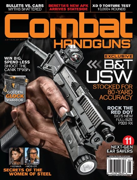 Combat Handguns Cover - 7/1/2017