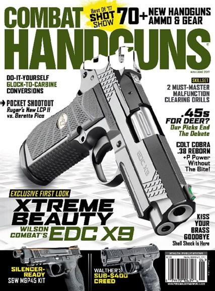 Combat Handguns Cover - 5/1/2017