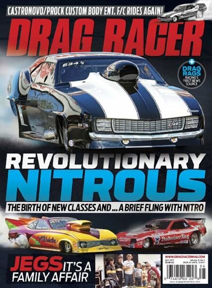 Drag Racer Cover - 5/1/2017