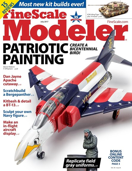 Finescale Modeler Cover - 7/1/2017