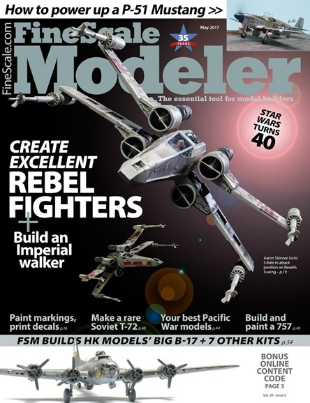 Finescale Modeler Cover - 5/1/2017