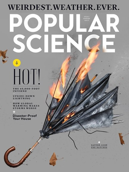 Popular Science Cover - 7/1/2017