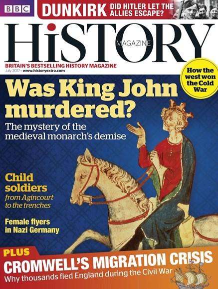 BBC History Cover - 7/1/2017