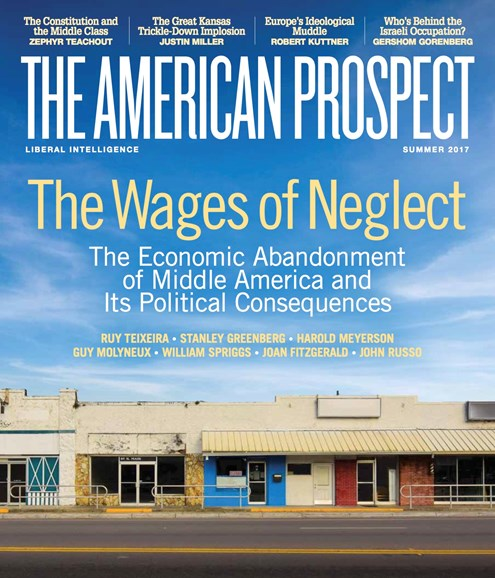 The American Prospect Cover - 6/1/2017
