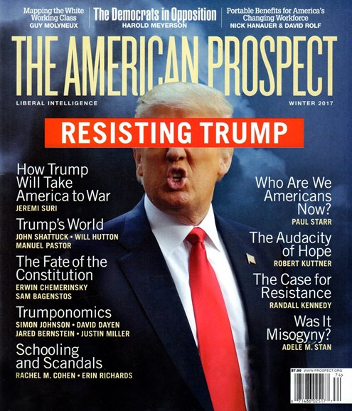 The American Prospect Cover - 12/1/2016