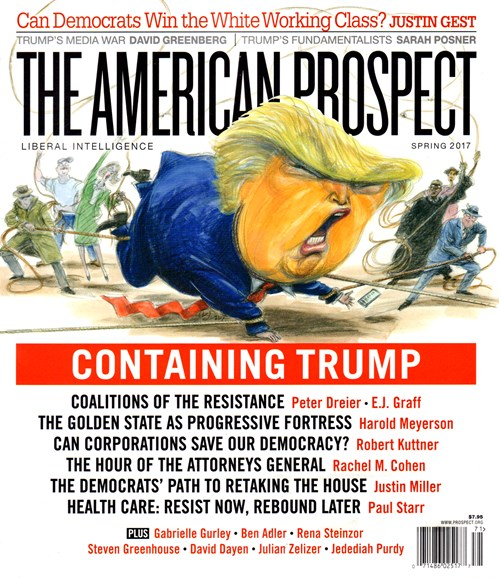 The American Prospect Cover - 3/1/2017