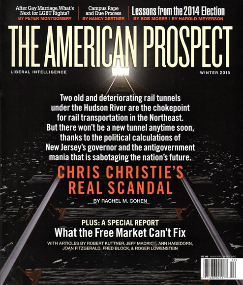 The American Prospect Cover - 12/1/2014