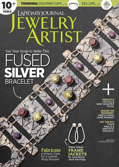 Lapidary Journal Jewelry Artist Cover - 7/1/2017