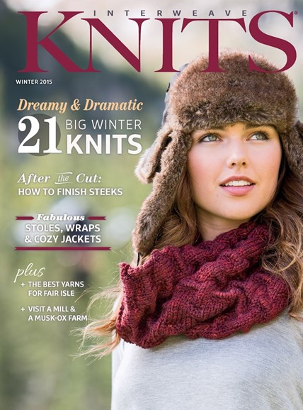 Interweave Knits Cover - 12/1/2014