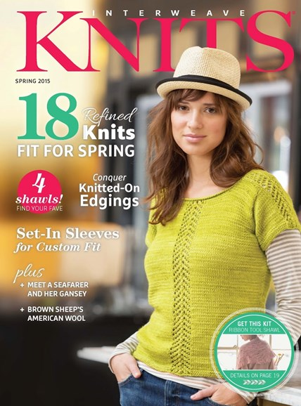 Interweave Knits Cover - 3/1/2015