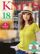 Interweave Knits Magazine 3/1/2015